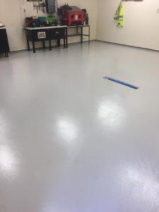 Blir bra med Epoxy på gulvet